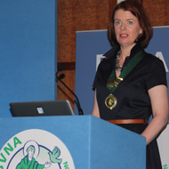 BVNA welcomes Fiona Andrew as new president