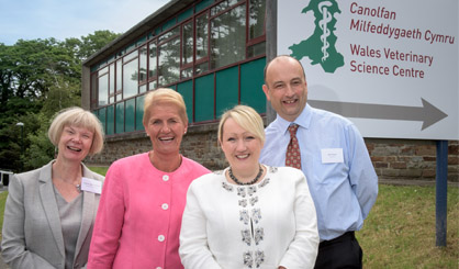 New veterinary science centre opens in Wales