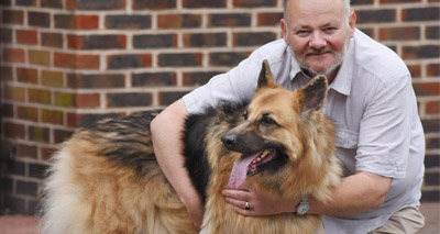 Rescue dog helps save her diabetic owner