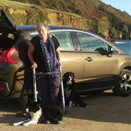 Vet nurse gets her adapted car