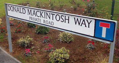 Suffolk road named after respected vet