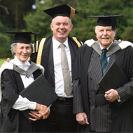 Former vet students awarded honorary degrees