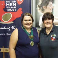 BVNA confirms donation to British Hen Welfare Trust