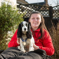 'Life-changing' dog gets an OBE