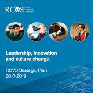 RCVS publishes three-year strategic plan