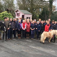 Volunteers praised for equine welfare work
