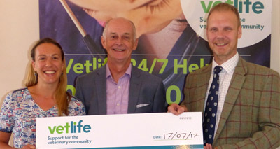 Funding boost for Vetlife Helpline.