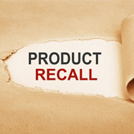 Product recall due to packaging damage