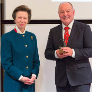 Renowned farrier wins Sir Colin Spedding Award