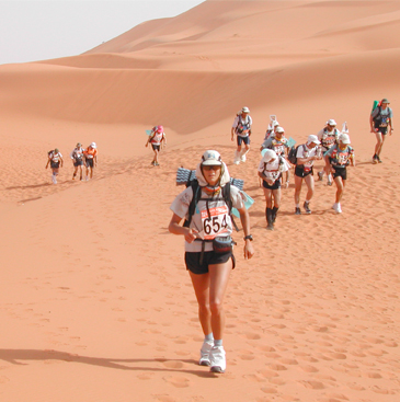 Vet to take on 'toughest footrace on earth'