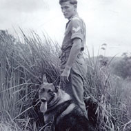 Memorial to celebrate military working dogs