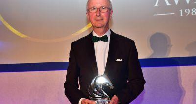 Achievement award goes to Ed Robinson