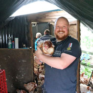 Invictus Games medallist rehomes 100 hens to help injured veterans