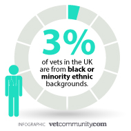 Young vet speaks out about lack of black and minority ethnic role models