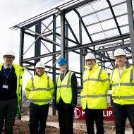 Construction of Harper Adams veterinary centre underway