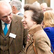 Princess Royal visits Moredun