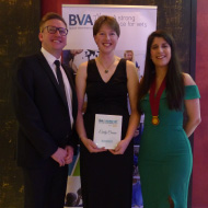 Farm animal vet scoops Young Vet of the Year award