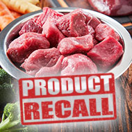 Raw dog food recalled over presence of Salmonella