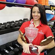 Bioveterinary student scoops top bodybuilding awards