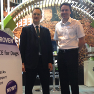 Dr Matthew Pead and Dr John Howie at the BSAVA congress.