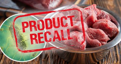 Raw pet food company issues third recall
