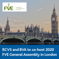 2020 FVE General Assembly set for London