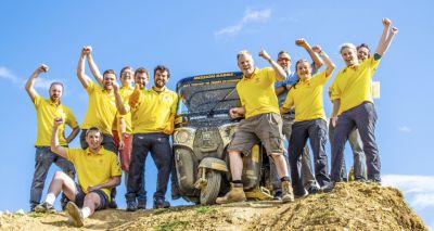 Mission Rabies team completes tuk-tuk challenge