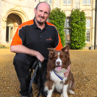 Search and rescue dog honoured for outstanding devotion