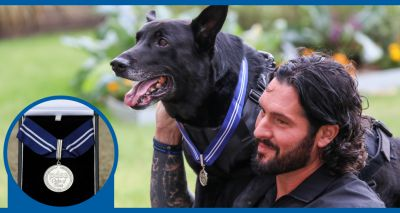 US Secret Service dog awarded 'animal OBE'