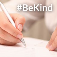 Open letter calls for colleagues to #BeKind
