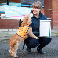 Recovery assistance dog receives PDSA Commendation