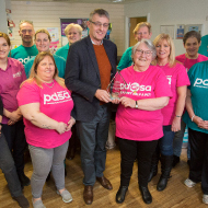 Belfast PDSA volunteer fundraising team wins national award