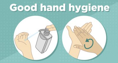 Maintaining good hand hygiene