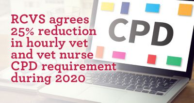 RCVS agrees 25 per cent reduction in CPD requirement during 2020