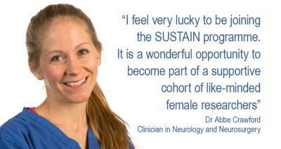 Clinician selected for leading female researcher development programme