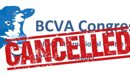 BCVA 2020 Congress cancelled