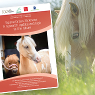 New booklet provides update on equine grass sickness
