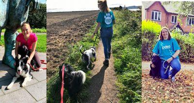 Liverpool PDSA vet team join world's biggest dog walk