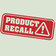 Product defect recall alert