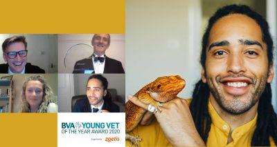 Children's TV vet wins BVA Young Vet Award