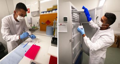 New RZSS and National Museums Scotland facilities support UK's first zoological biobank