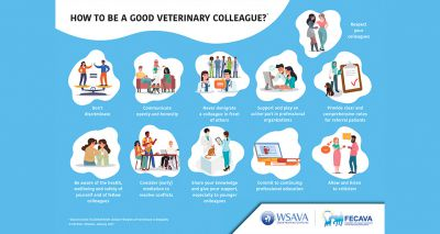 Veterinary collegiality infographic launched by WSAVA and FECAVA